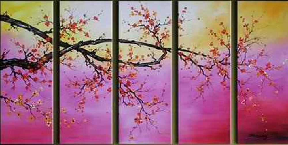Tree Branch 5 piece set Painting