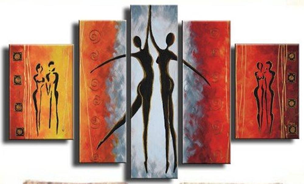High Five 5 piece set Painting