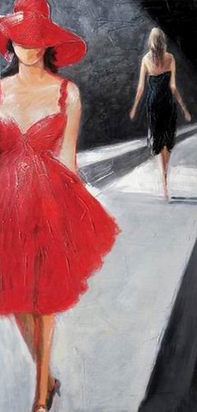 Fashion Show Modern Art