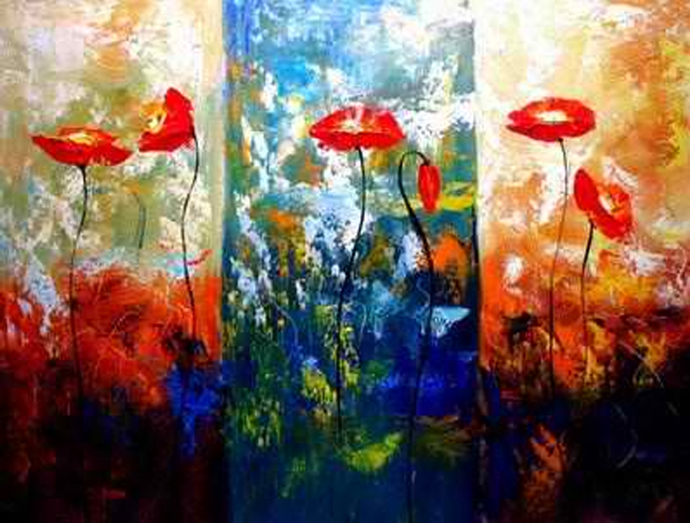 Amazing Backgrounds 3 pieces set Painting
