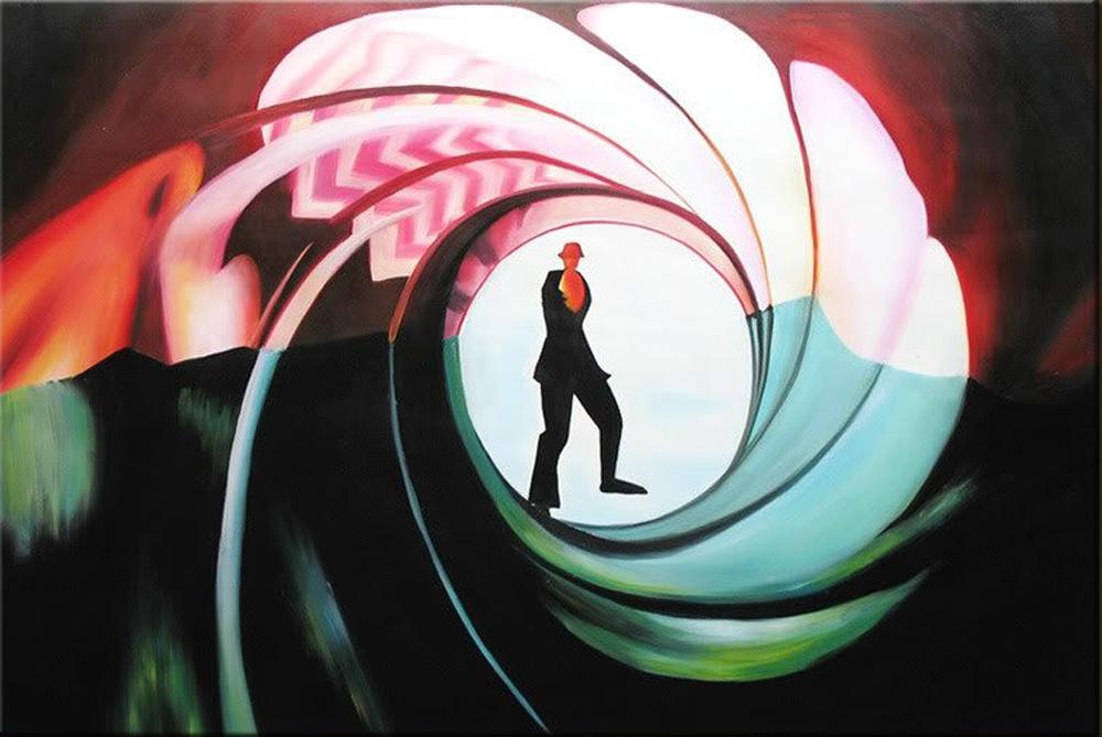 Agent Man Painting