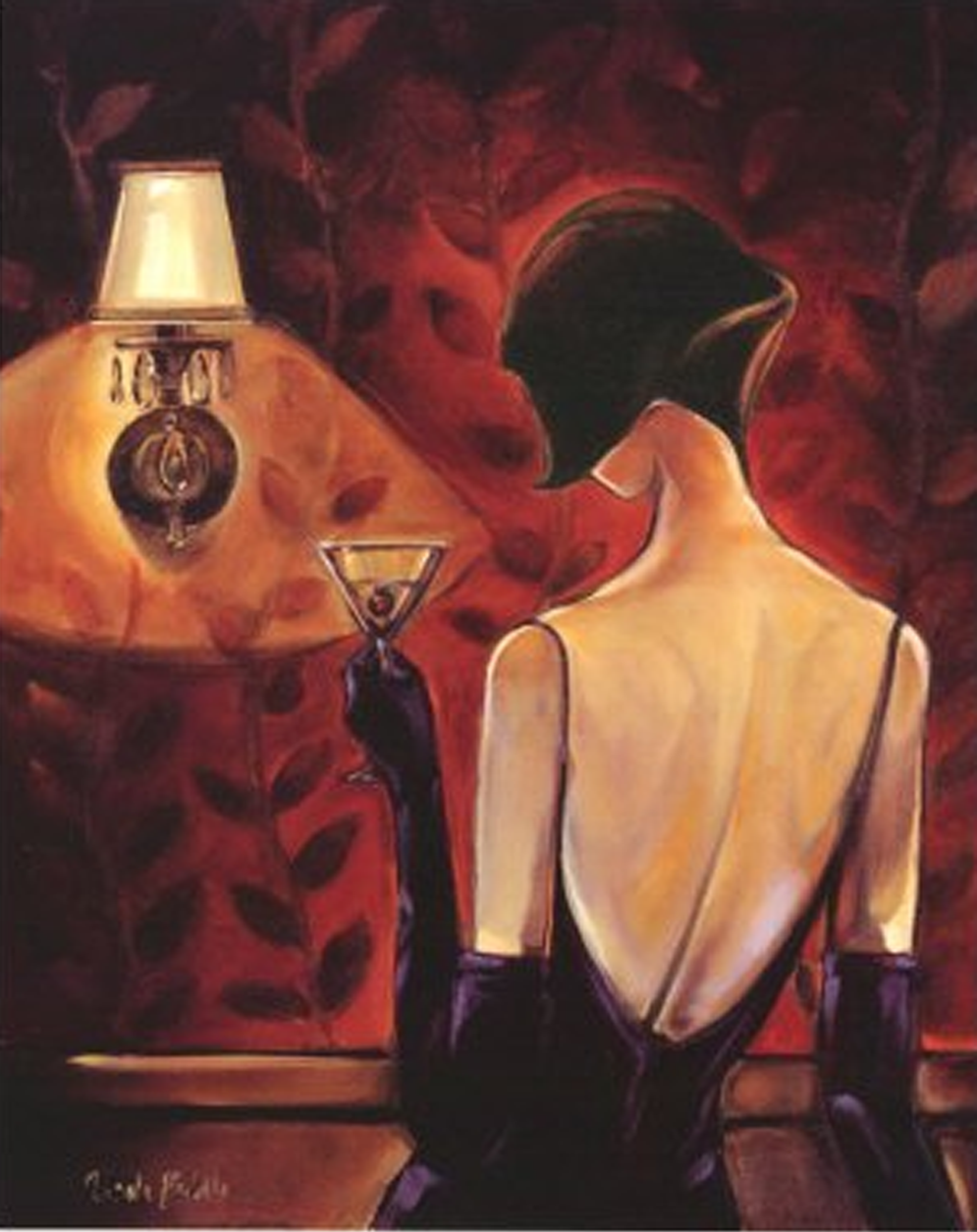 Black Lady Painting