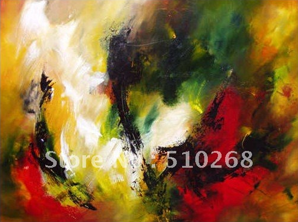 Abstract Different Color Painting