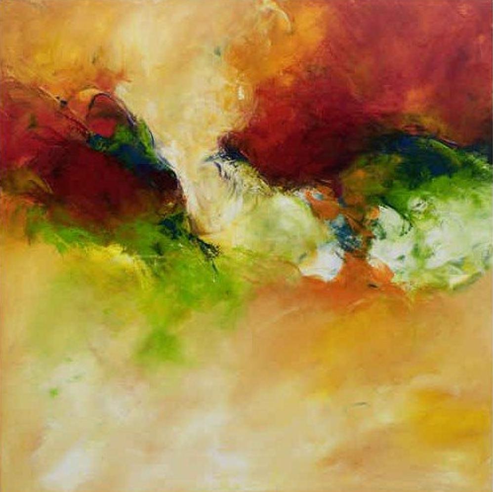 Abstract Burger Painting