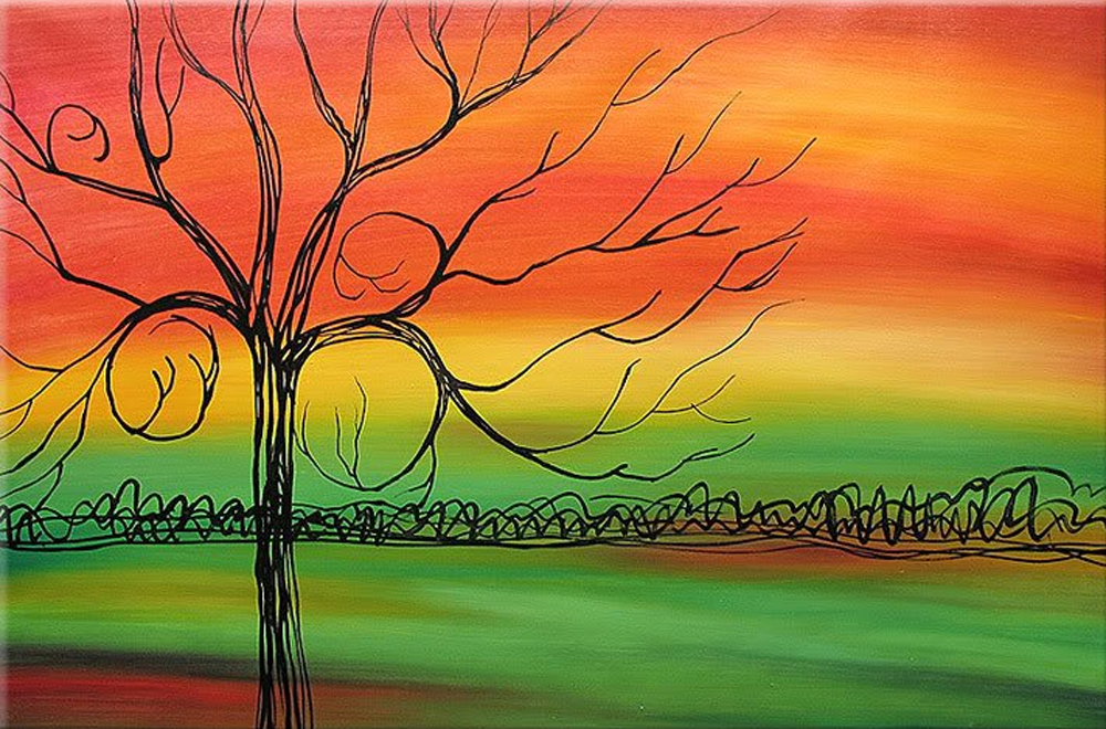 A Tree Painting
